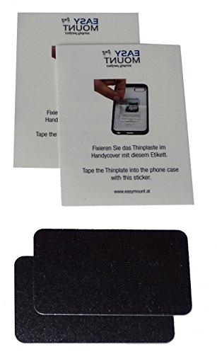 EasyMount Thinplate für EasyMount Classic, Air, Brackets Halterungen Kompatibel mit Anderen Magnethalterungen - Metallplättchen