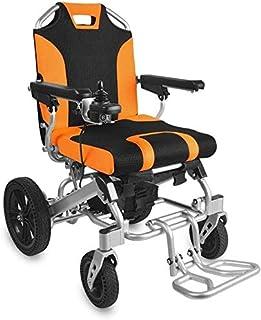 Silla de ruedas eléctrica for adultos, portátil plegable silla de ruedas eléctrica sin escobillas, conveniente for la gente: ancianos, discapacitados (gray.180W * 2) Los dispositivos de asistencia Wal