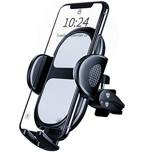 Modohe Handy Halterung PKW, Drehbare Handyhalterung Auto Lüftung für iPhone, Samsung, HTC, LG, Huawei oder GPS-Gerät, Smartphone Halterung Auto als Universale Car Accessories