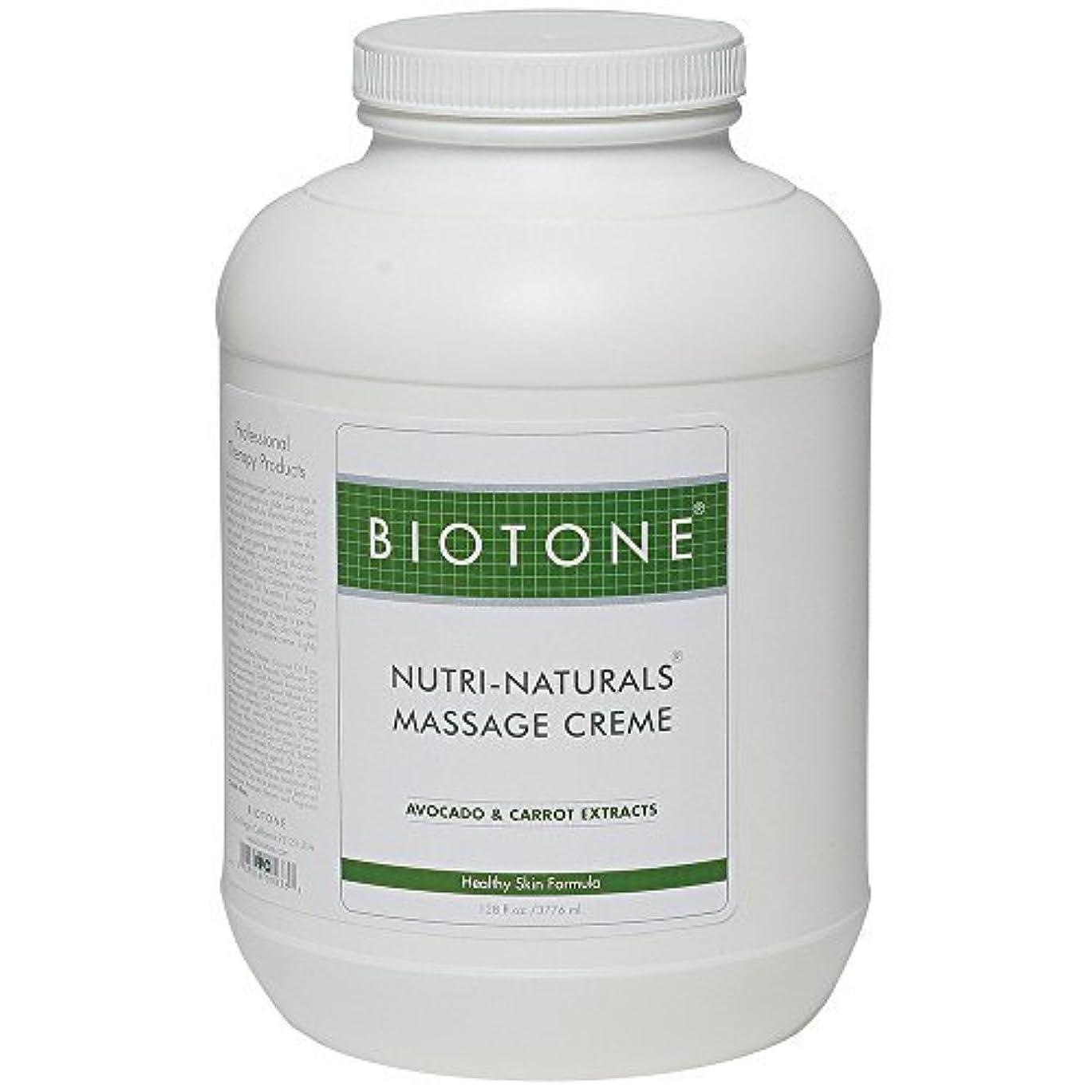 放射性被る大気Biotone Nutri Naturals Massage Cream 128 Ounce [並行輸入品]