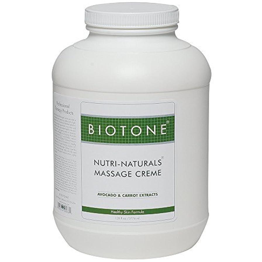 羊の熱狂的なエージェントBiotone Nutri Naturals Massage Cream 128 Ounce [並行輸入品]