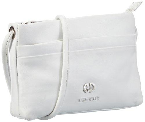 Gerry Weber Piacenza Shoulder Bag S 4080000683 Damen Umhängetaschen 20x14x4 cm (B x H x T), Weiß (White)