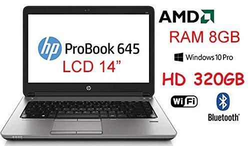 Notebook HP Probook 645 Core A6 3,2Ghz 320GB LCD 14 pollici WIN 10 PRO (Ricondizionato)