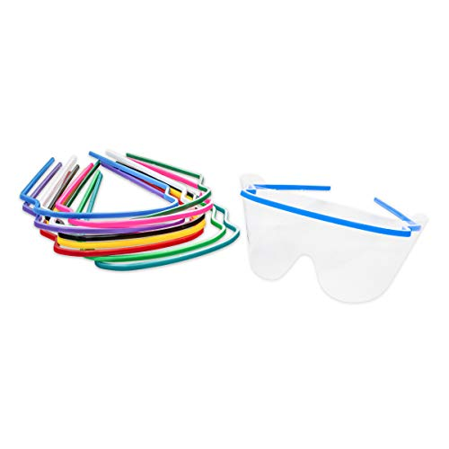 Eye Shield Office Pack (Includes 10 Frames and 25 Disposable Eye Shield Lenses per Pack)