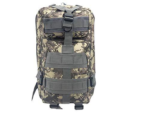 Greenpromise 30L hombres/mujeres deporte bolsa senderismo camping bolsa viaje trekking militar táctica mochila mochilas, ACU camuflaje