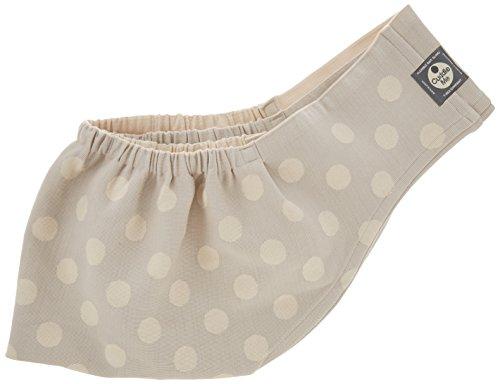 カドルミー 日本製ベビースリング ニットで抱っこ 新生児寝かしつけ Lサイズ ドットグレー リバーシブル
