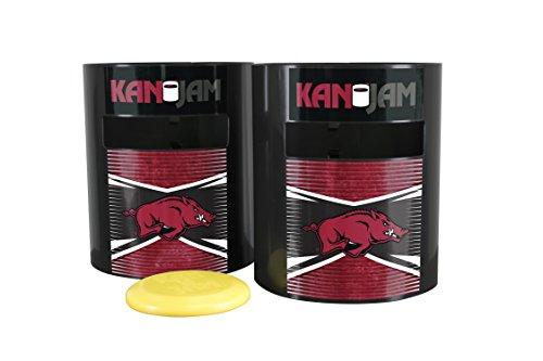 Kan Jam Arkansas Razorbacks Disc Slam Outdoor Game, NCAA Licensed Set