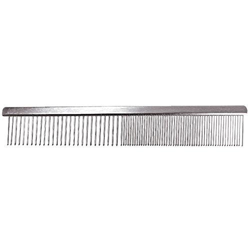 Groom Professional Chrome Comb 19cm