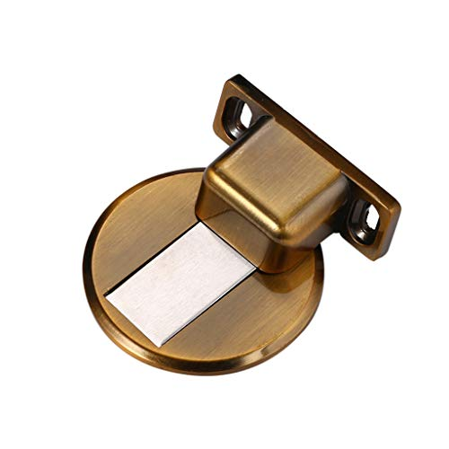 Yusell - Puerta de aspiración para evitar la colisión invisible (acero inoxidable)...