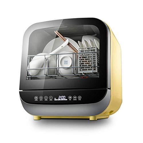 potente para casa Lavavajillas Gpzj Mini Lavavajillas Automático Compacto sobre encimera, 5 modos inteligentes,…