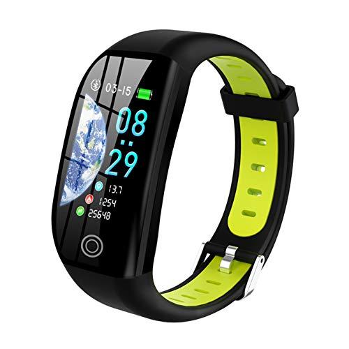 Tipmant Pulsera de Actividad, Reloj Inteligente Smartwatch Impermeable IP68 Pulsera Inteligentes con Pulsómetro Podómetro Calorías Pulsera Deporte para Android y iOS para Hombre Mujer Niños (Verde)
