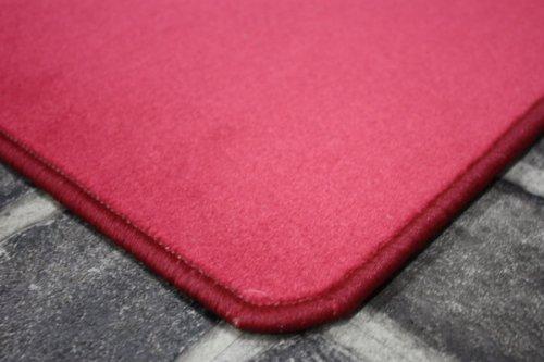 Velour Teppichboden Play Pink (66) Auslegeware (ungekettelt), Grösse: 100 x 400cm