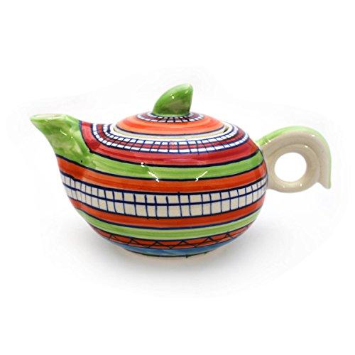 Tetera jarra jarra de cerámica pintado a mano Vajilla–Gall & Zick