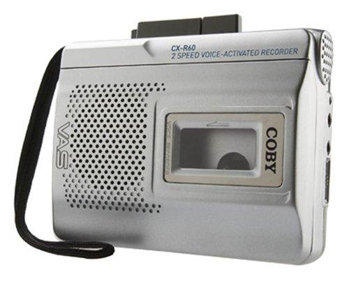 Coby CX-R60 Voice Activated Cassette Recorder