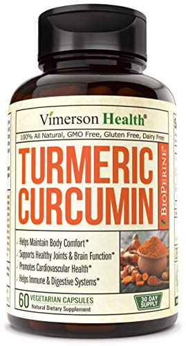 Turmeric Curcumin with BioPerine Black Pepper, 95% Curcuminoids....