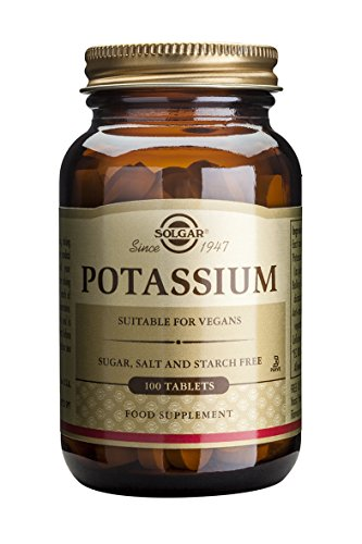 Solgar Potasio (gluconato) - 100 Comprimidos