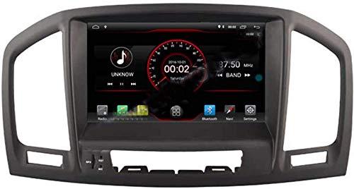 FWZJ Autosion Android 10 Car Stereo Radio Audio Navegación GPS Pantalla táctil HD de 8 Pulgadas para Opel Vauxhall Holden Insignia 2008-2013 Soporte Cámara de visión Trasera/SWC/Mirror Link /