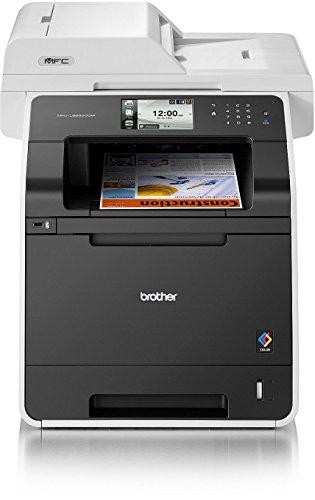 Brother MFC-L8850CDW 4-in-1 Farblaser-Multifunktionsgerät (Drucker, Kopierer, Scanner, Fax) grau/schwarz