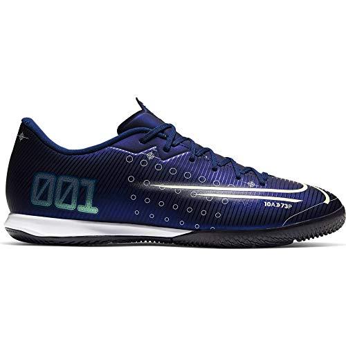 Nike Herren Vapor 13 Academy MDS Ic Fußballschuhe, Blau (Blue Void/Metallic Silver-White 100), 43 EU