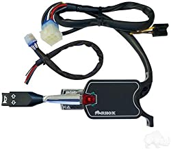 RHOX Universal Golf Cart Turn Signal Switch with Horn Button, 7 Wire