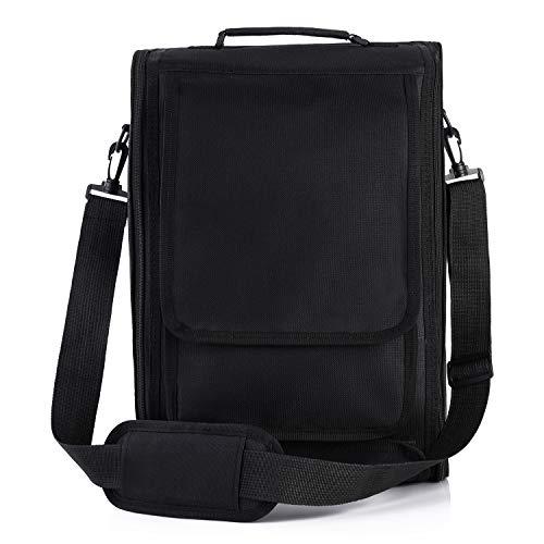 ASNOMY Estuche de transporte para PS5, nuevo estuche de viaje para almacenamiento maletin ps5, bolso de hombro protector de PlayStation para PS5 Consola y accesorios