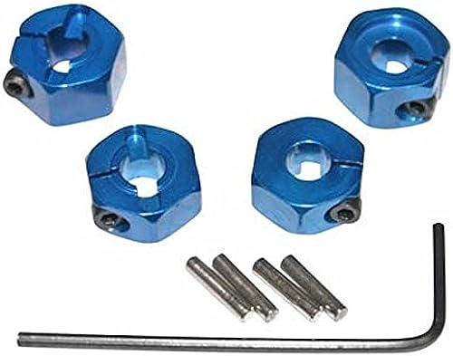 ahorra hasta un 70% HOT-RACING TE1006SL TE1006SL TE1006SL azul Aluminum 12mm Wheel Hex 2WD (4) by Hot Racing  artículos de promoción