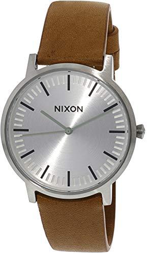 NIXON Reloj Analógico para Hombre de Cuarzo con Correa en Cuero A10582853
