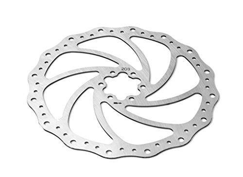 Scheibenbremse à˜203mm gewellt 6 Schrauben universell Motorrad