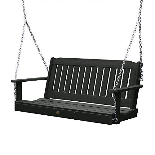 Highwood AD-PORL1-CHE Lehigh Porch Swing, 5 Feet, Charleston Green