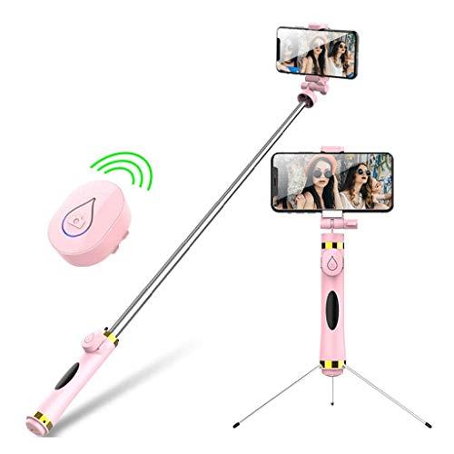 HGFTY Trípode, portátil Extensible Selfie del palillo con el Bluetooth Remoto, Compatible 360 ° Rotación