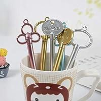 maibuy 学生文具 クリエイティブ かわいい レトロ文具 ささやかな贈り物 ペン Random Key