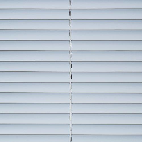 Liedeco Jalousie aus Kunststoff, 160 cm Länge, Kunststoff-Jalousie weiß B 60 cm