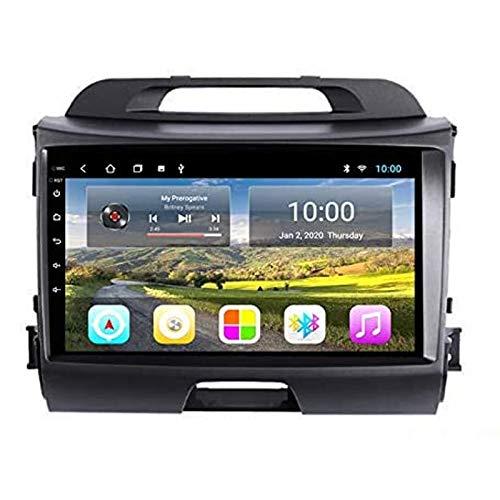 Android 9.0 Coche Estéreo Para KIA SPORTAGE R 2010-2016 Radio 9 Pulgadas HD Pantalla Táctil GPS Navegación Media Player Receptor Con Enlace De Espejo FM AM Turing Wheel Control,4 core 4g+wifi: 1+32gb