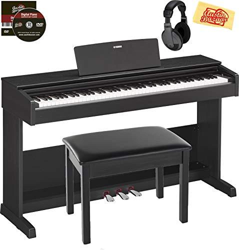 Yamaha Arius YDP-103 Digital Piano Bundle with Furniture Bench, Headphones,...
