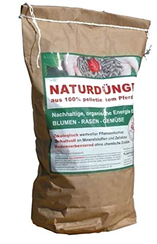 4KG JODA Plantaqenz - engrais naturel en 100% granulée Fumier de cheval