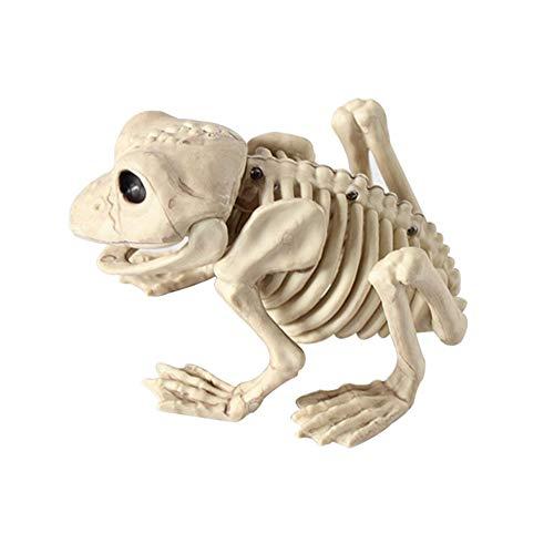 Coomir Tierskelett-Modell Bat / Frog / Lizard Knochen Halloween Party Dekoration