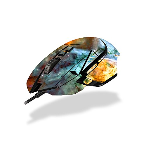MightySkins Skin Compatible with Logitech G502 Proteus Spectrum Gaming Mouse - Space Cloud | Protective, Durable, and Unique Vinyl wrap Cover | Easy to Apply, Remove | Made in The USA