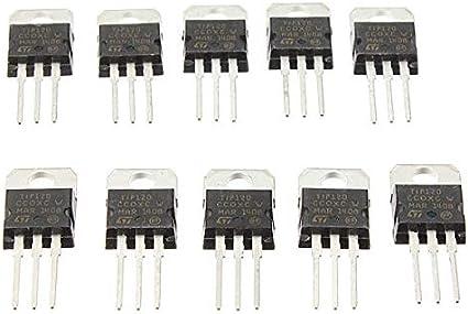 MINGMIN-DZ Duradero TIP120 NPN TO-220 Darlington Transistores 50pcs Fácil de Montar