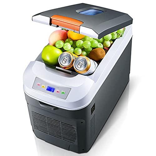 LYZL Refrigerador Silencioso Portátil del Coche del Mini Refrigerador del Refrigerador del Coche 35L para, Que Acampa, Viaje, Barco, 12V / 24V