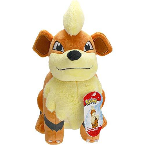 Lively Moments Pokemon Plüschtier ca. 20 cm / Kuscheltier / Spielzeug / Plüschfigur Fukano / Growlithe