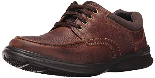 Clarks Men's Cotrell Edge Oxford, Tobacco Oily Leather, 14 M US