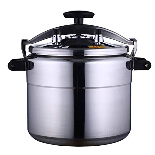 Cocina de presión de aleación de aluminio comercial, olla de sopa a...