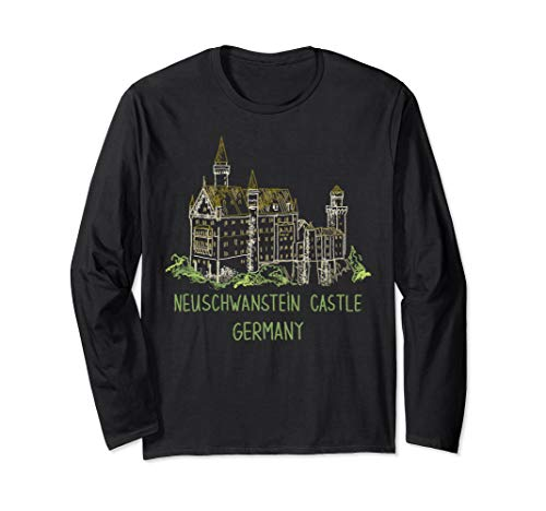 Neuschwanstein Castle Germany Langarmshirt