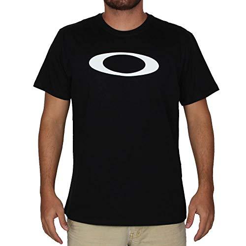 Camiseta Oakley Elipse Tee Blackout Cor;Preto;Tamanho:GG