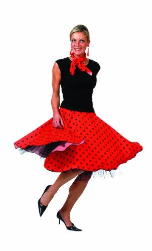 Funny Fashion 508046D - Disfraz de rockero para mujer