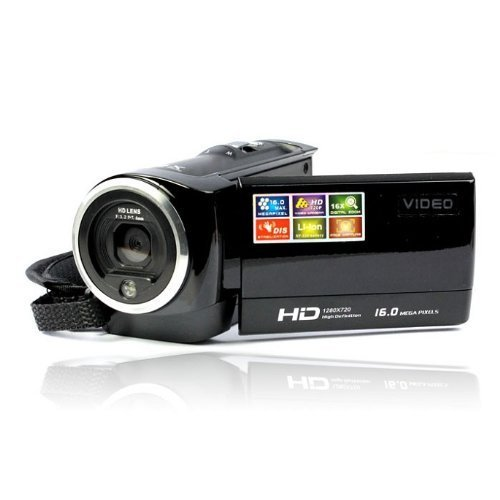 720P Digital Video Camcorder 16MP -Kamera mit 16-Fach Zoom