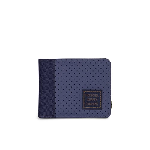 Herschel Edward RFID Wallet - Peacoat/Army (Aspect Collection)