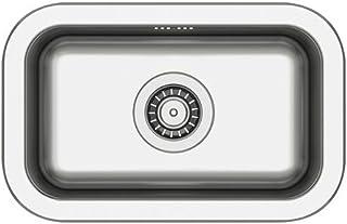 Ikea BOHOLMEN - Single-Schüssel Einbauspüle, Edelstahl - 47x30 cm
