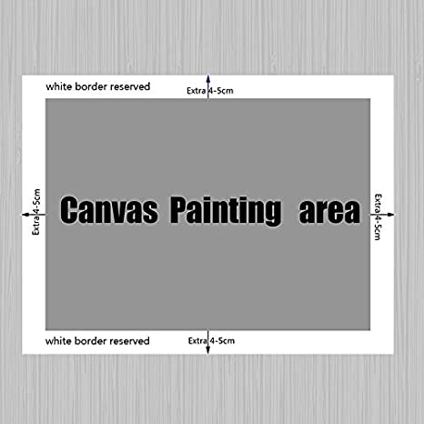 Stampa su Tela Wall Art Manifesti di mappe del Mondo in Bianco e Nero e Quadri murali per la Decorazione del soggiorno30x45cmPittura Senza Cornice