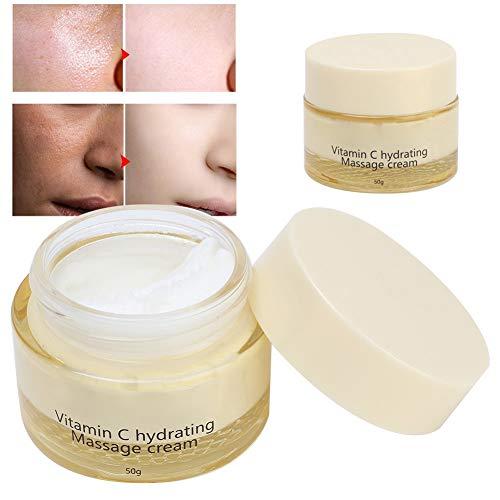 Crema de masaje hidratante Exfoliar la crema facial limpiadora de poros para el cuidado de la piel Cuidado de la piel saludable Antienvejecimiento Reducir las arrugas Parece más joven diariamente